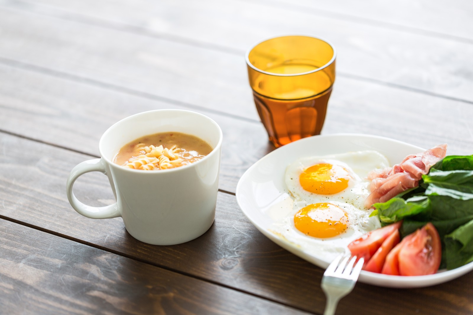 朝食、時間、通勤、出勤、栄養
